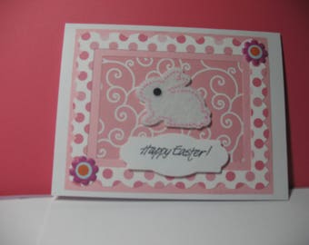 Bunny Happy Easter Card