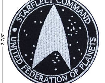 Star Trek The Movie Embroidered Iron On Patch