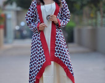 Red Shrug with Maxi
