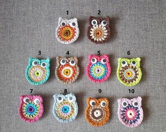 Crochet OWL magnets