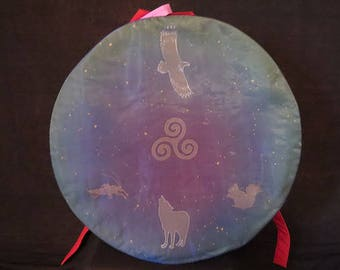 bag or cover for Native American size 40 to 42 or shamanic drum