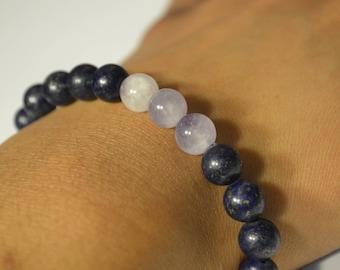 Amethyst and Lapis Lazuli