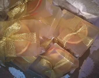 Clear sweet orange soap