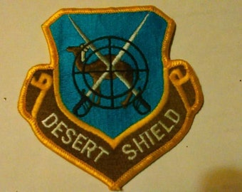 Desert Shield Patch