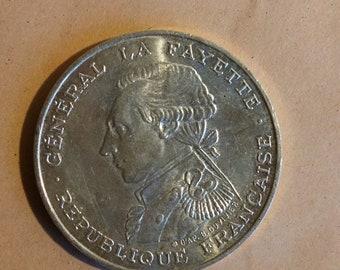 Piece 100 francs 1987