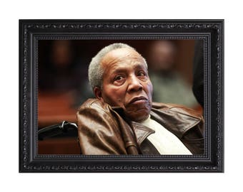 American Gangster Frank Lucas 'The Court of Appeal' Poster or Art Print