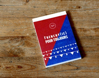 Reporter notebook. FRENCHY (IE) forever