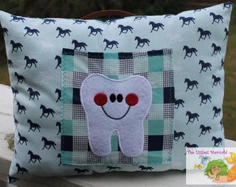 Horse Tooth Fairy Pillow // Kids Tooth Pillow // Tooth Fairy // Horse Pillow