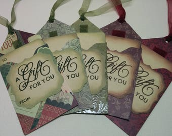 Gift Card Holders - set of 5