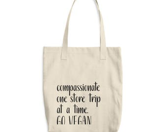 compassionate one store trip at a time tote