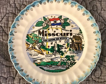 Missouri State Sanders Collector's Plate