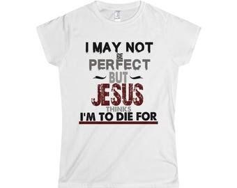 Ladies Christian T Shirt, Evangelical T shirt, Gospel T shirt, Bible T shirt , Jesus Christ T shirt, God T shirt, Gospel T Shirt, Lord Shirt