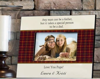 Personalized Father's Poem Frames - Father's Day Gifts - Dad Photo Frames - Father Poem Frames - Father Picture Frames - Dad Frames