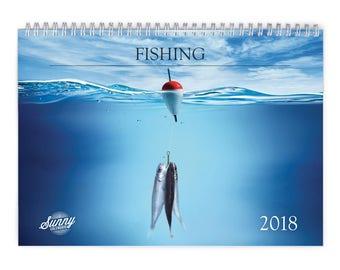 Fishing 2018 Wall Calendar