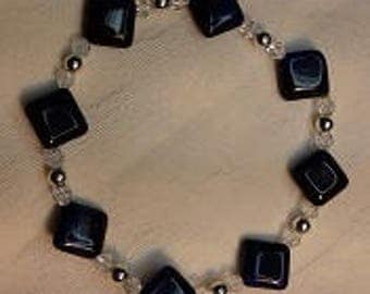 B17016 Blue Tiger's Eye Bracelet