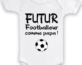 Bodysuit baby humor future Football Dad!