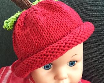 Cute baby apple hat