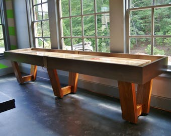 Custom Made Shuffleboard Table-Office Furniture-Commercial Bar Furniture Game Table-Game Room Furniture-Playroom-Monaco Shuffleboard