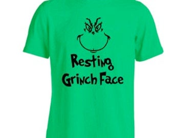 Resting grinch face t shirt