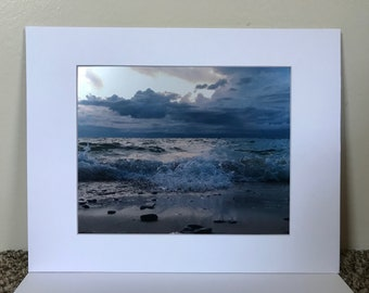 Lake Michigan waves 8x10 print