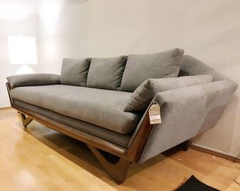 Superb Mid Century Adrian Pearsall Style Sofa