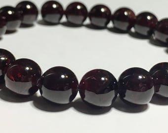 8mm Garnet~22 beads