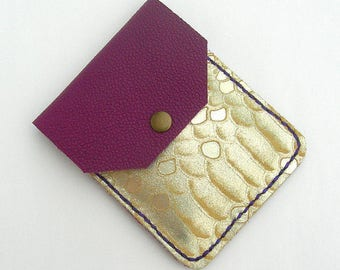 Leather card holder, leather card case, leather card holders, leather card cases