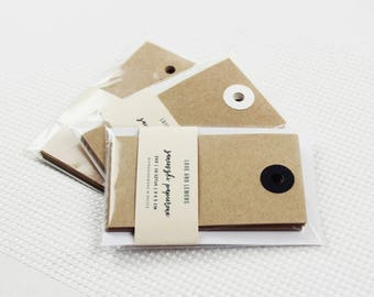10 Brown Kraft Paper Tags | Gift Tags, Paper Tags For Packaging, Gift Labels, Wedding Favors