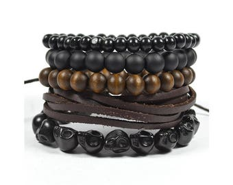 5 Pack Black Out Bracelet Version 2