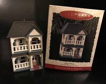 Hallmark Keepsake Ornament - Cozy Home (Nostalgic Houses & Shops) 1993