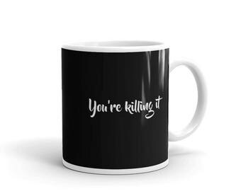 You're killing it Mug, performing at the highest level supportive encouraging mug; ripping mug. always looking fresh, somebody who is doing