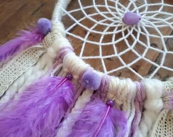 White and purple Dreamcatcher