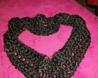 Bulky infinity scarf