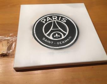 Paris Saint Germain Graffiti logo