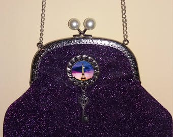 Purple metal mouthpiece Bag