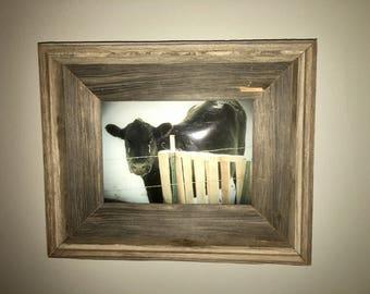 5 x 7 Barn Wood Frame