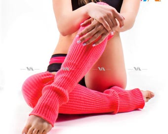 Knitted leg warmer | Gaiters | Pole dance socks | Ballet leg warmer | Gym leg warmer | Yoga socks | Dance socks | Dance leg warmer