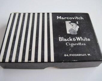 Boîte en carton noir & blanc 25 (vide)