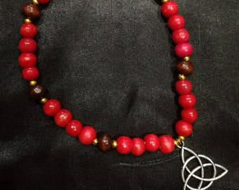 Triqetra- meditation beads