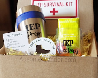 Funny IEP Survival Kit for Special Education Autism Mom Dad Teacher