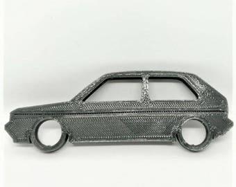 VW Golf Mk2 Keychain