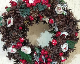 Christmas Wreath Out Door