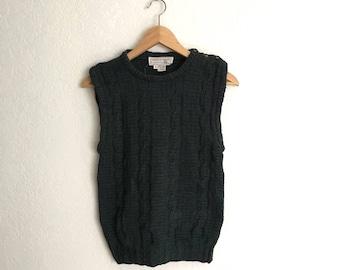 Vintage Sweater Vest • Size S