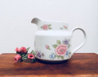 """FTDA Floral Pitcher Creamer """"Especially for You"""""""
