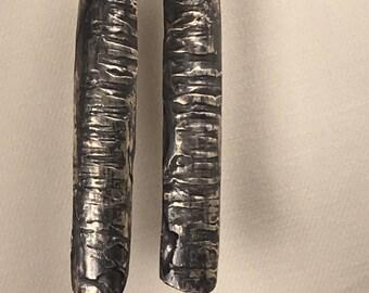 Fused Sterling Silver Earrings