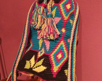 Crochet de sac wayoo, sac à dos wayoo au crochet, crochet de sac