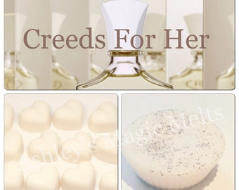 3 creed perfume soy wax melts, perfume dupe melts, designer dupe melts, highly fragranced melts, cheap wax melts