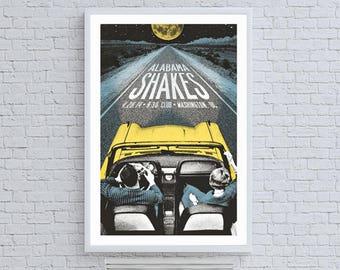 Alabama Shakes Road Band Poster Concert Ad
