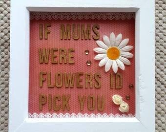 Mother flower Frame