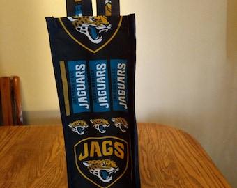 Jacksonville Jaguars wine bag